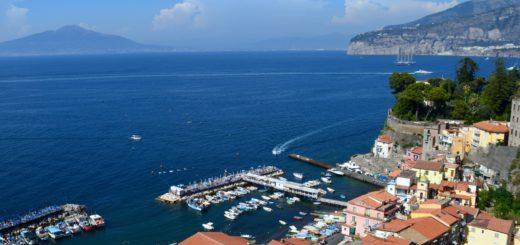 Amalfi Coast Sorrento Town Italy Europe
